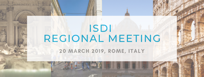 Register for the ISDI Regional Meeting 2019 in Rome!