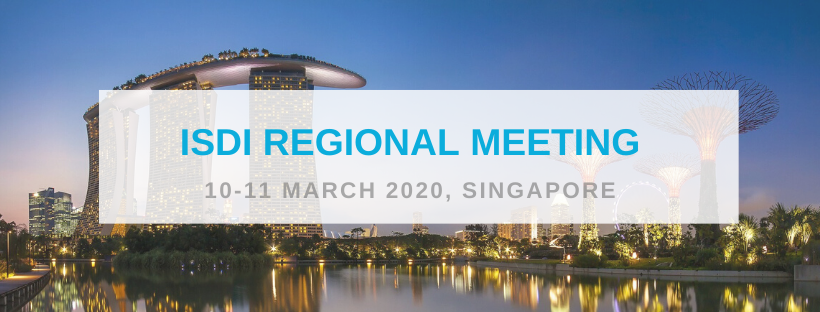 Save the date for the ISDI Regional Meeting 2020 in Singapore!