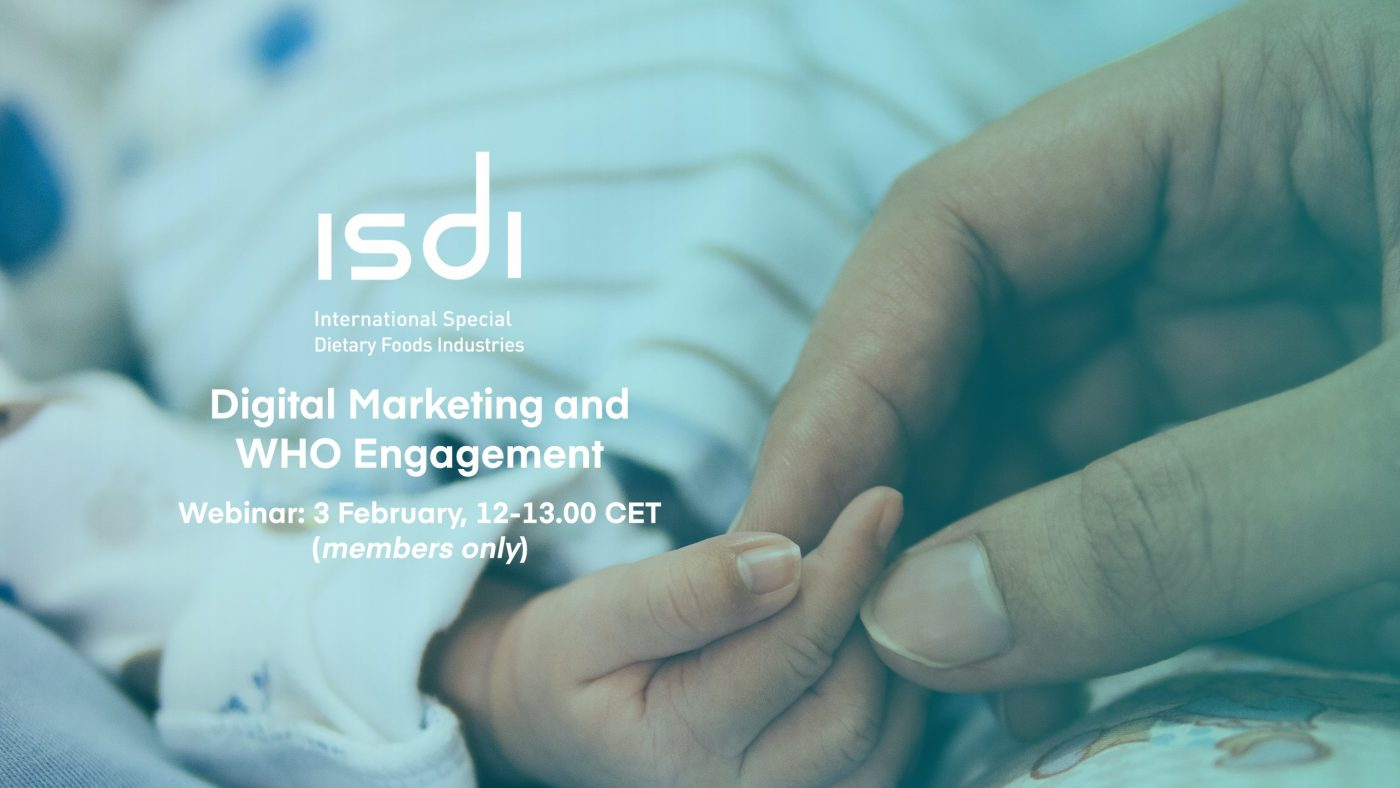 Join us on 3 February to talk about Digital Marketing & WHO Engagement with Rocco Renaldi