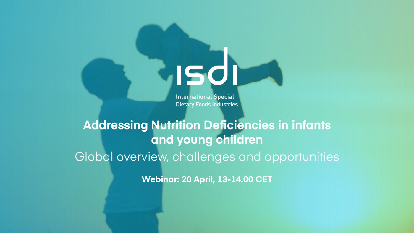Join our 'Addressing Nutrition Deficiencies in Infants and Young Children' webinar on 20 April
